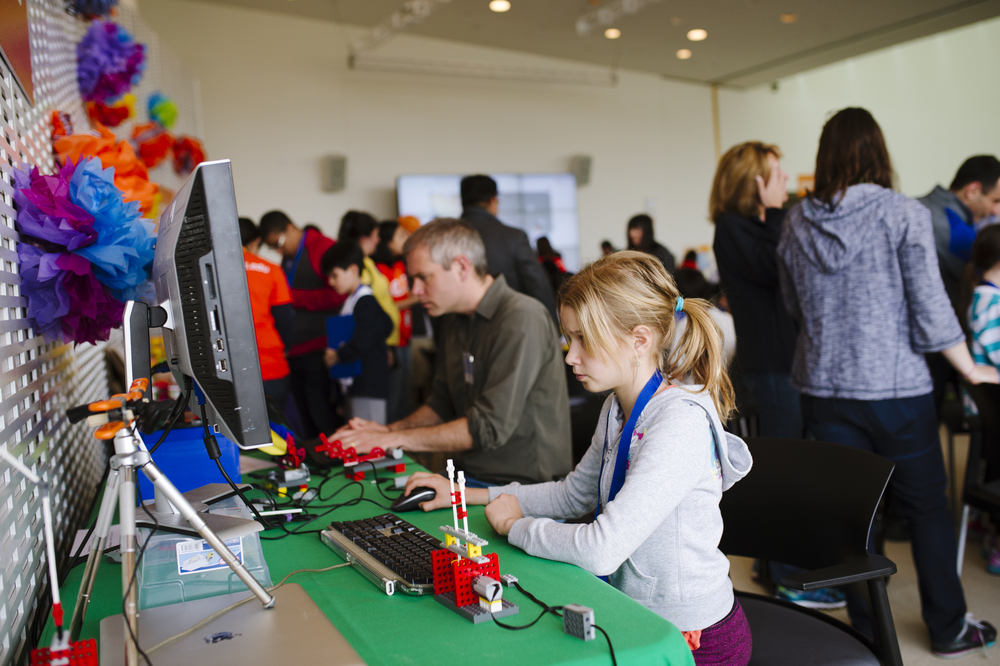 Scratch Day at MIT, 2015  Kelly Lorenz Photography