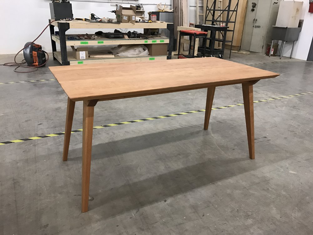 """THE BRAD"" Dining Table in Cherry"