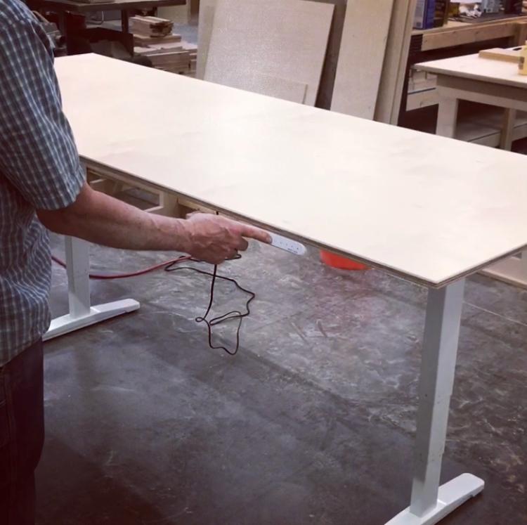 """THE VIC"" Custom Adjustable Sit/ Stand Desks"