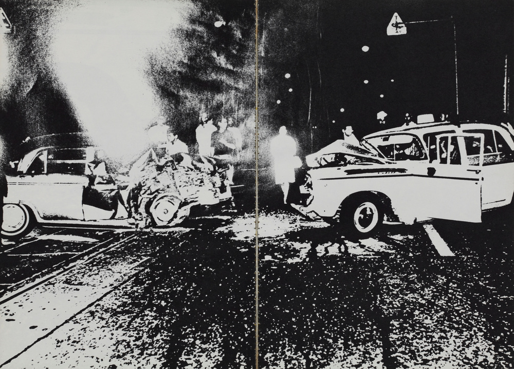 Daido Moriyama (b. 1938), From  Asahi Camera , 1969. Gelatin silver print, 7 3/8 x 10 1/2 in. Tokyo Polytechnic University, Shadai Gallery. © Daidō Moriyama / Courtesy of Tokyo Polytechnic University, Shadai Gallery and Taka Ishii Gallery