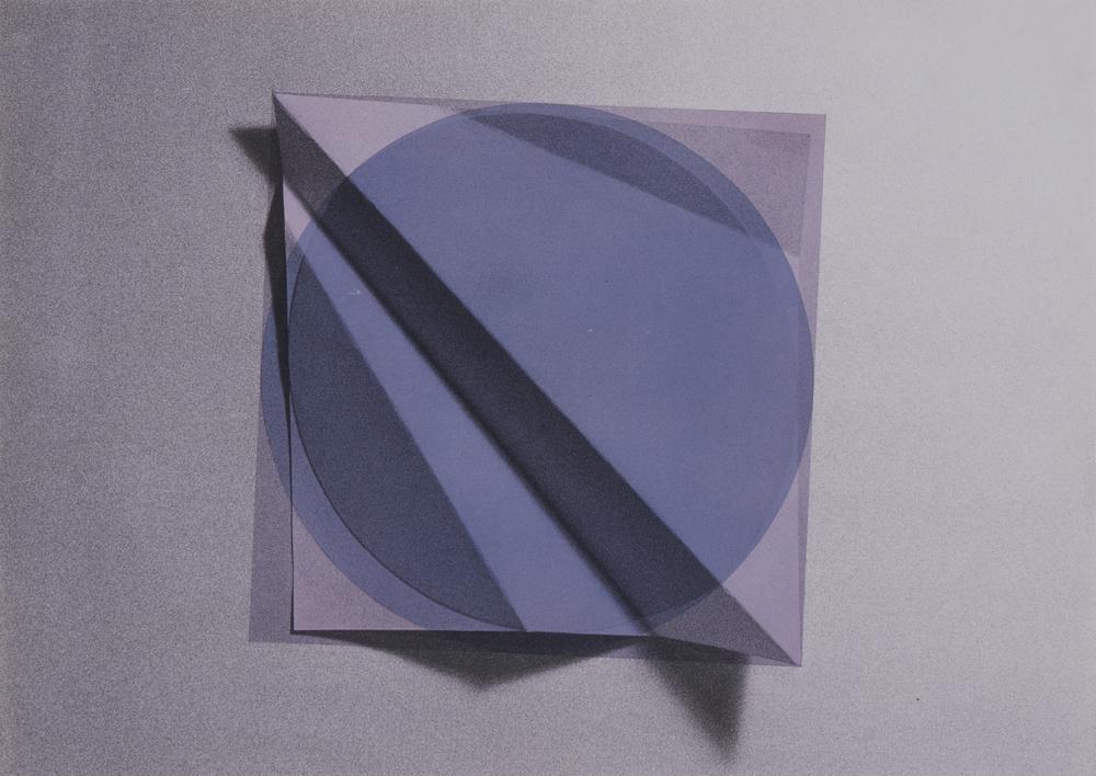 Kazuyo Kinoshita,  79-38-A , 1979. Acrylic on photograph, 20 1/5 x 28 3/8 in. National Museum of Modern Art, Tokyo. © Kazuyo Kinoshita