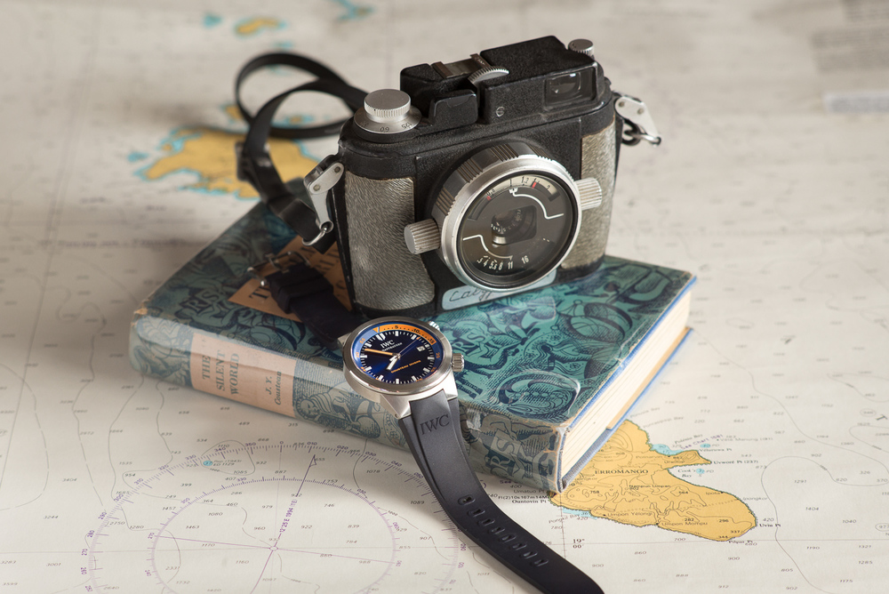 8770c7d58243a1 The First Underwater Camera  Jacques Cousteau — CAMERA CHRONICLE