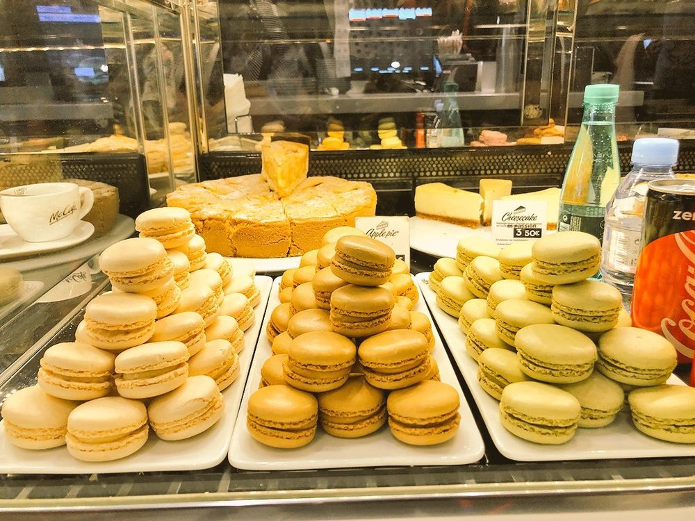 McDonald's France takes their pastries seriously as well. So delicious!