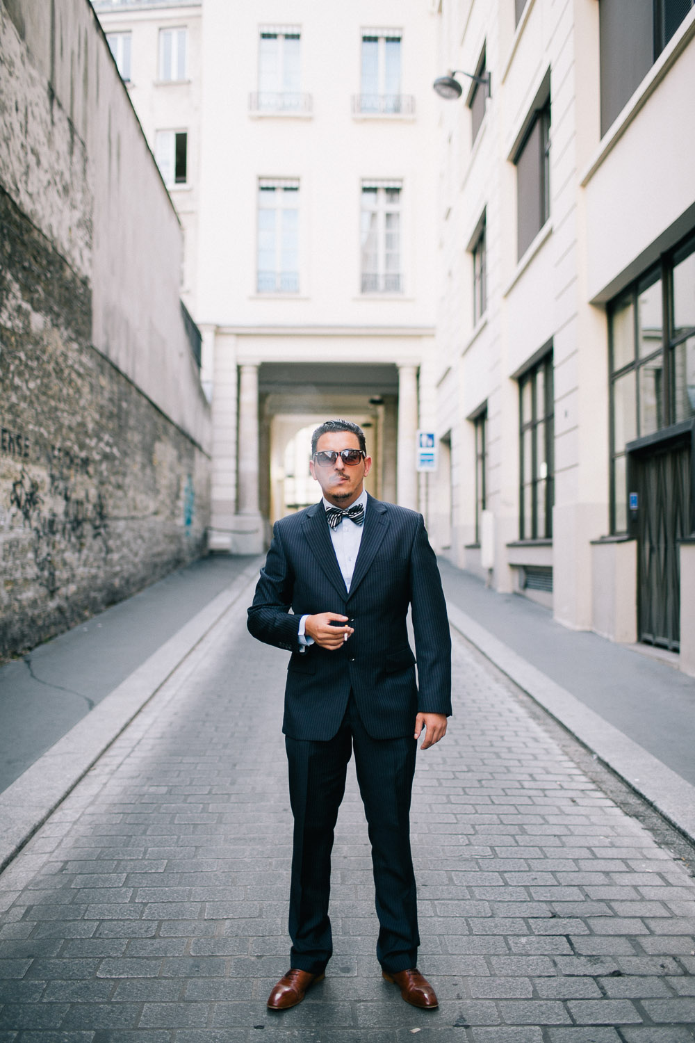 Groom in Paris