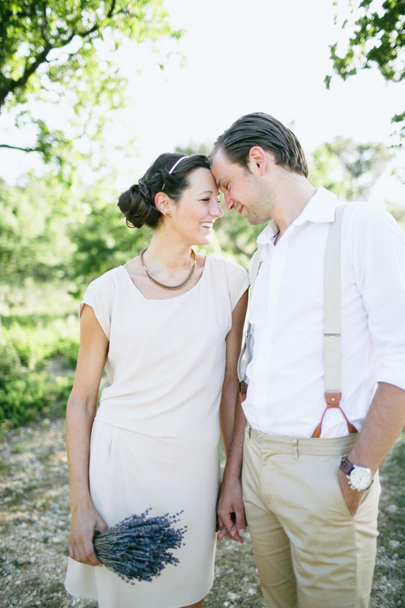 Verlovingsreportage in Provence, Frankrijk