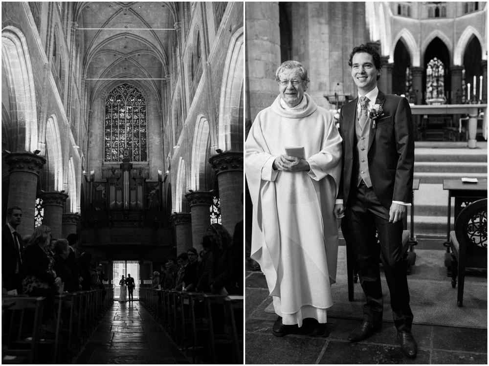 Huwelijk kerk Hulst