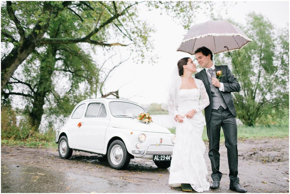 Huwelijk Fiat 500