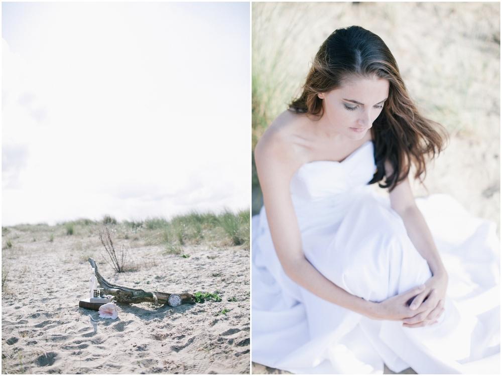 Bridal shoot Cadzand