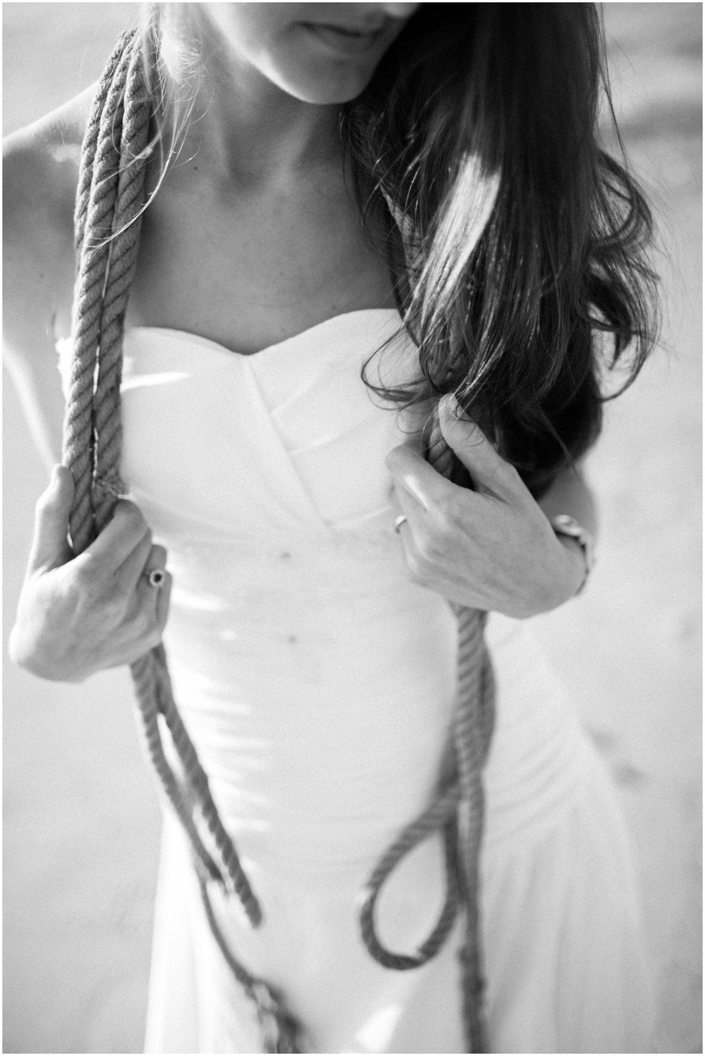 Bride with cord