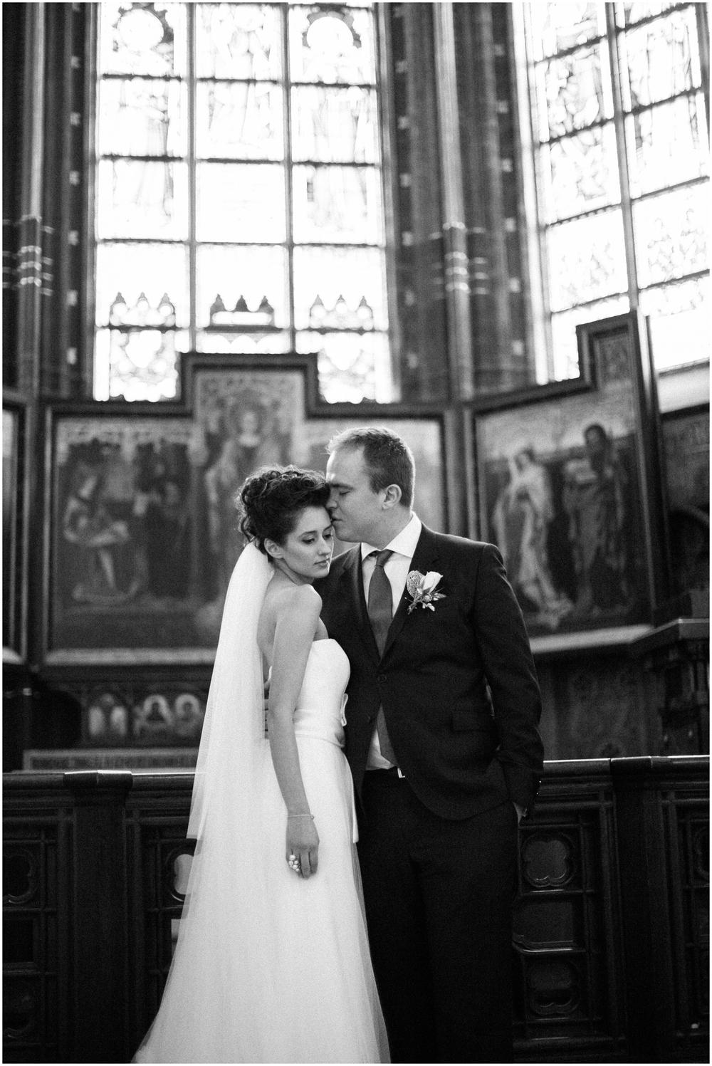 Winterhuwelijk Kathedraal Antwerpen