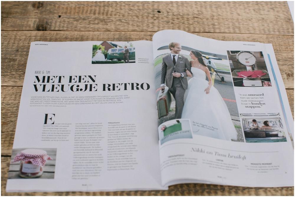 Publicatie Bruid & Bruidegom magazine