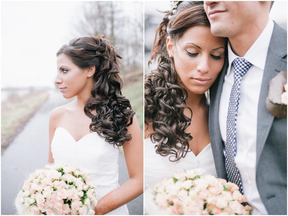 Huwelijksfotoreportage dijk Temse