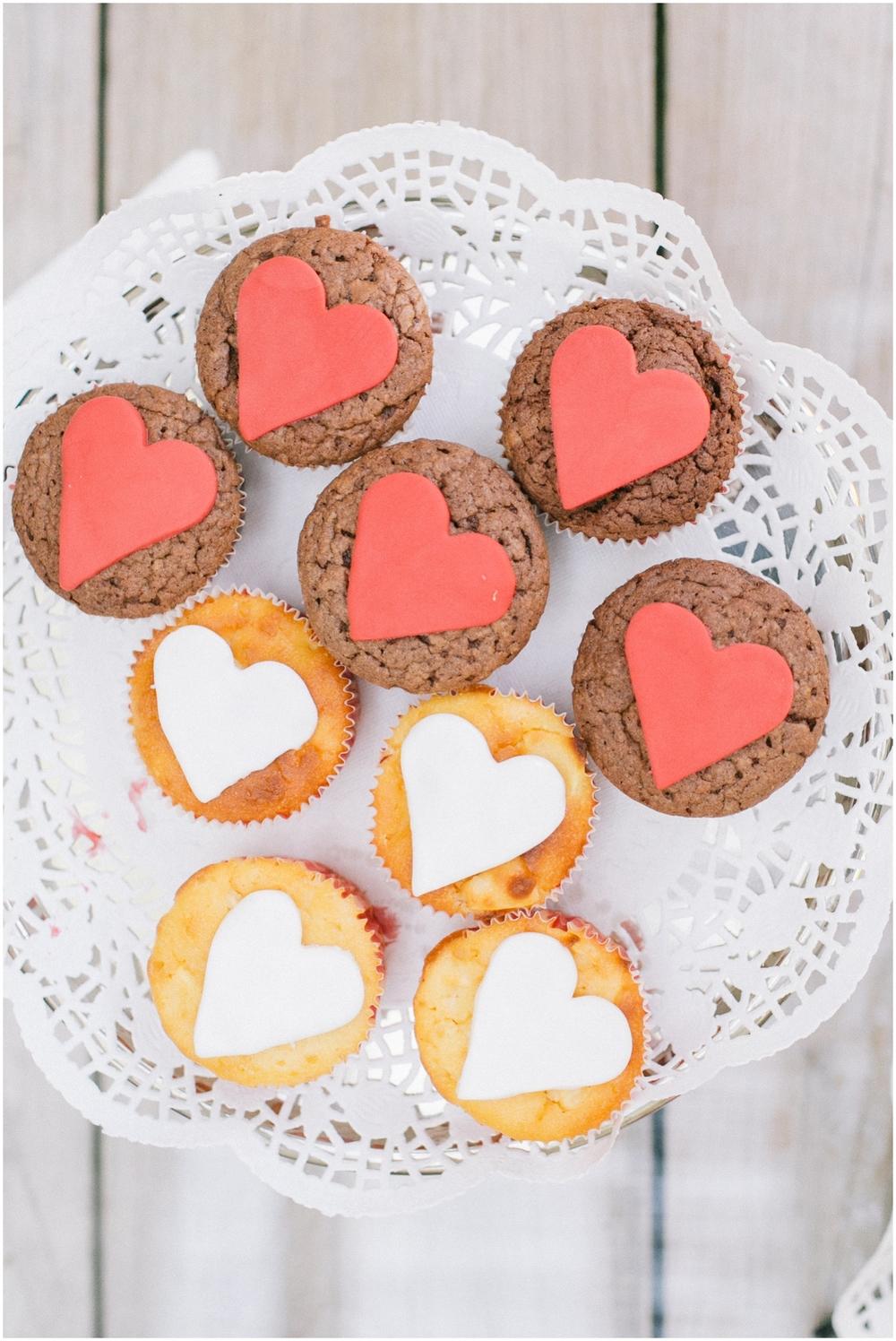 Cupcakes op huwelijk