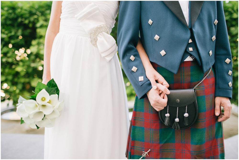Schots huwelijk in Brussel