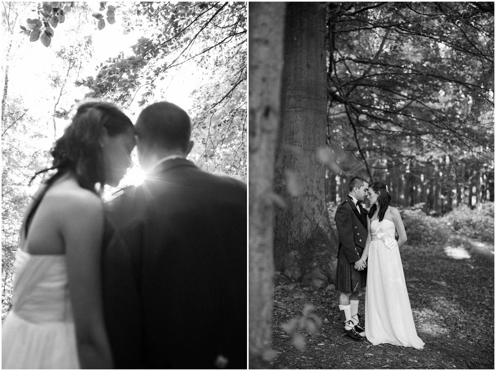 Huwelijksreportage Tervuren bos