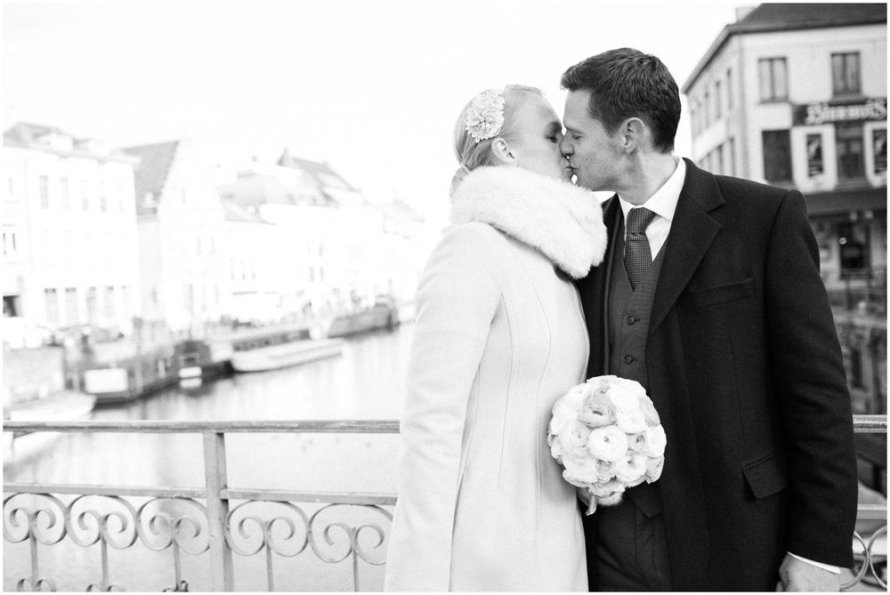 Huwelijk in stad Gent