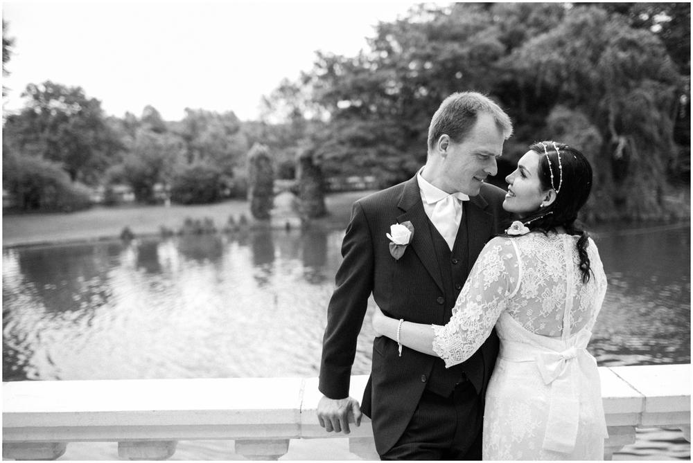 Braziliaans-Belgisch huwelijk in kasteel