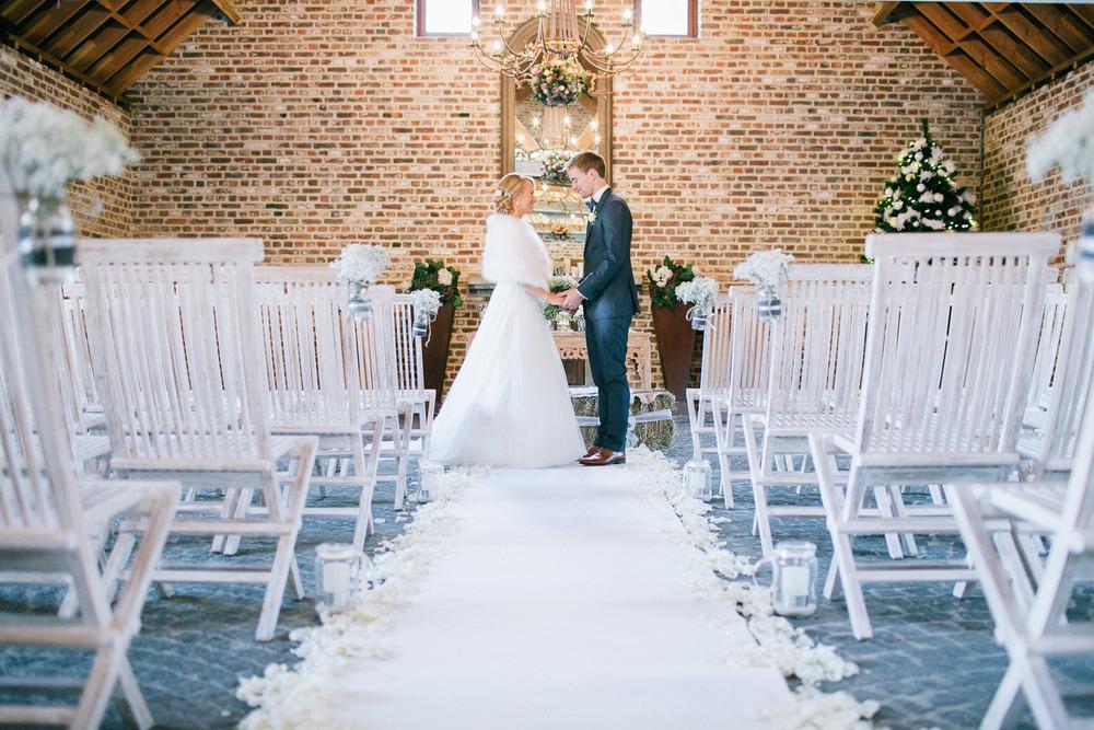 Huwelijksceremonie Fonteinhof Borgloon