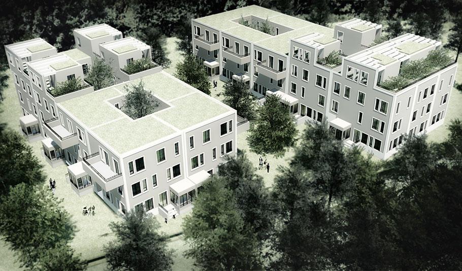 """A1301_SKY HOUSES """"LUMEN"""" Regensburg"""