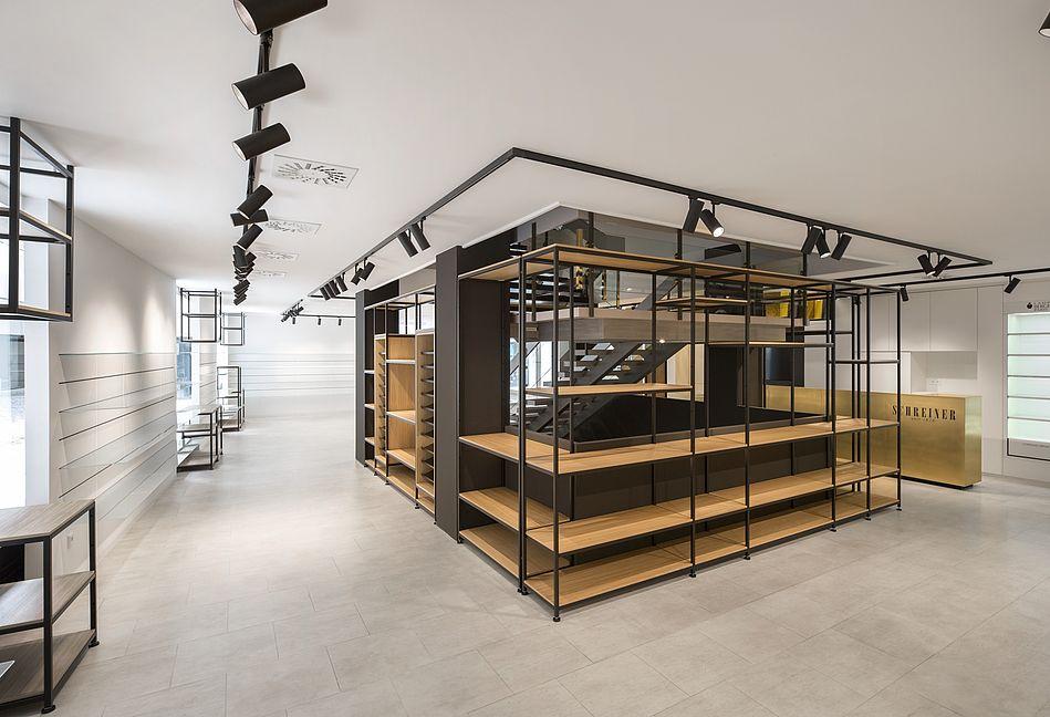 Interieur Schreiner, Regensburg - Re-Design einer Verkaufsfläche in Regensburg