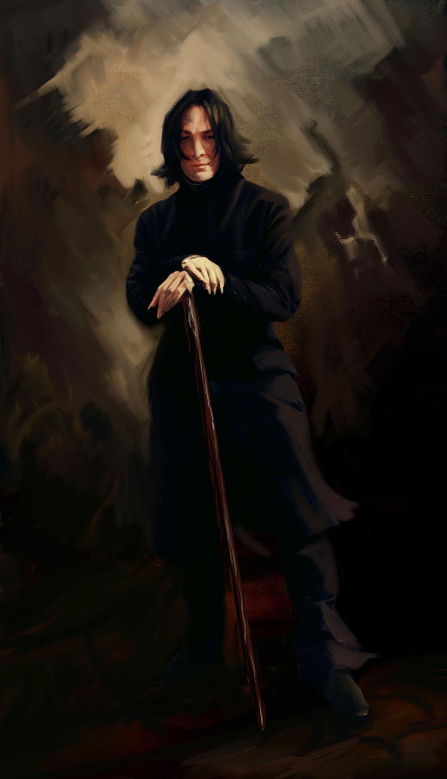 Harry Potter - Snape Portrait.jpg