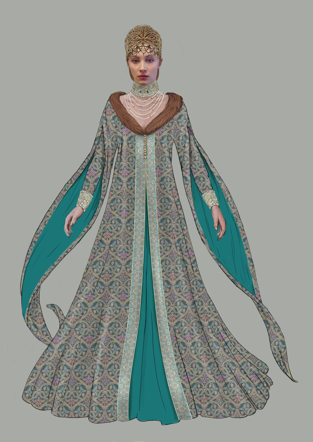 Dracula untold costume designer