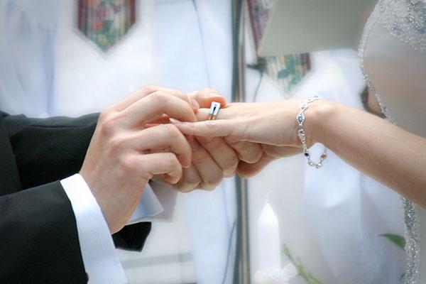 Fairy new wedding rings Exchange of rings wedding vows