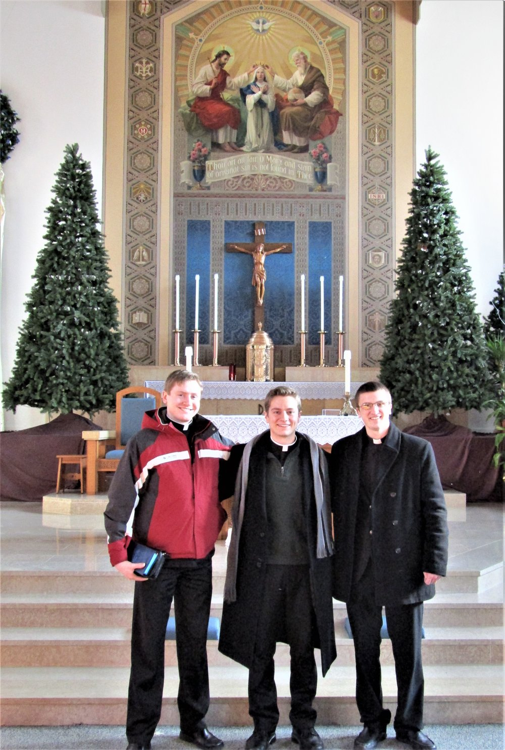 Please pray for our seminarians!