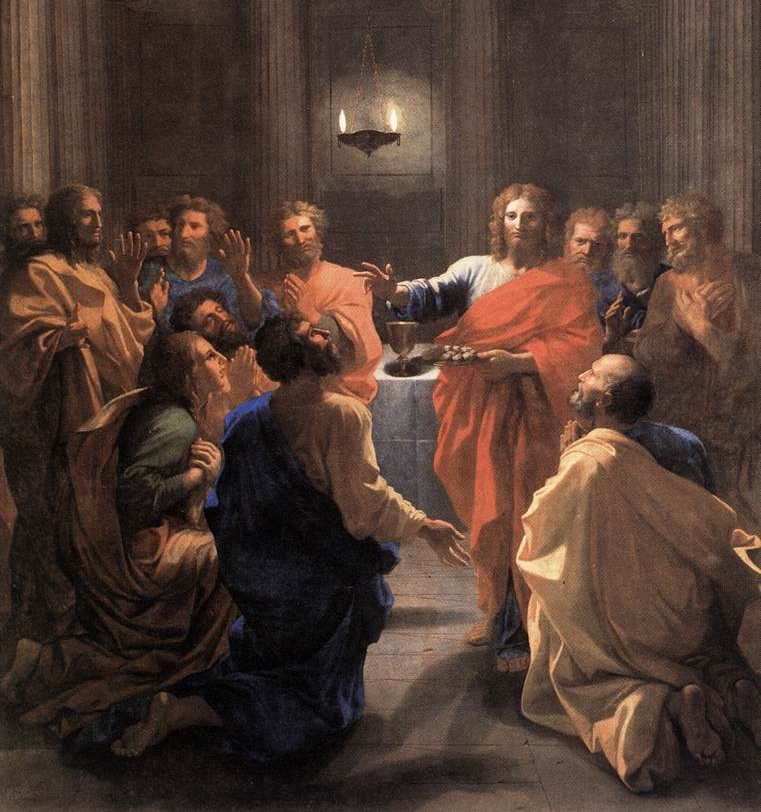 The Institution of the Eucharist by Nicolas Poussin