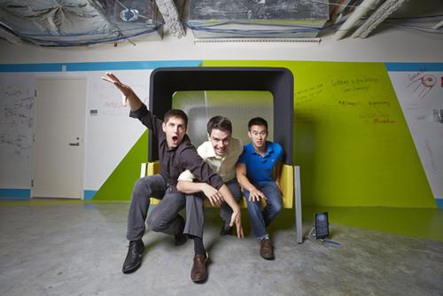 VerbalCare's founders Nick Dougherty, Greg Zoeller, Eric Hsiao