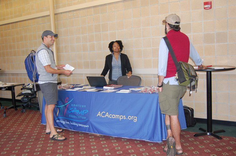 The American Camp Association was among the organizations that assisted in promoting the Fall Festival. OPRA, NACPRO, ASLA, and 4H also assisted.