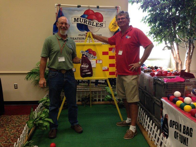 Bill Olczak of Mystic Mountain Training Center in Pennsylvania won the Murbles tournament.