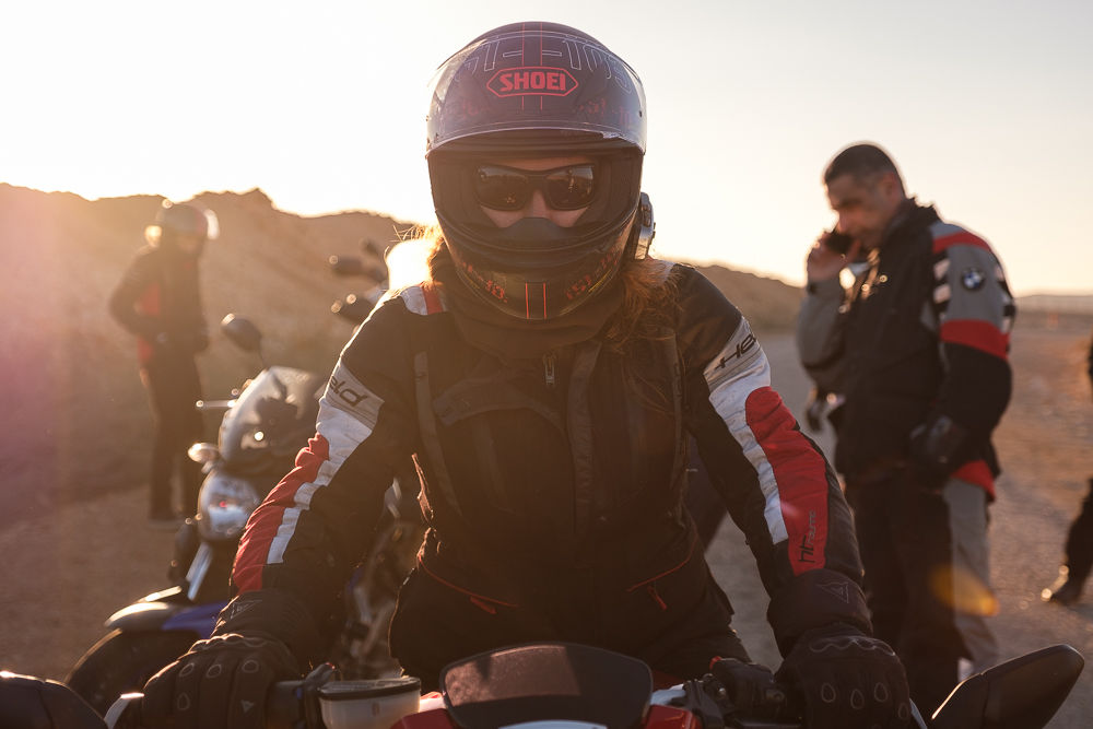 The woman of the hour, Ms. Hila Fenlon via M.V. Agusta, Brutale Roadster 800 R.R.