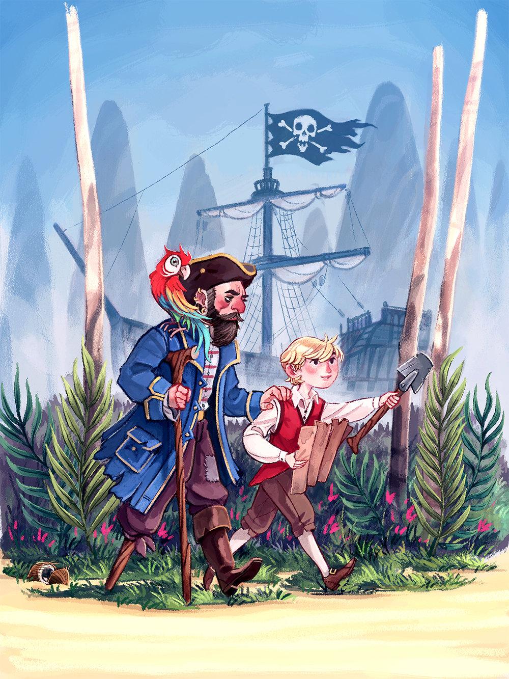 Little Golden Books: Treasure Island