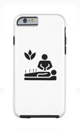 acupuncture phone case icon