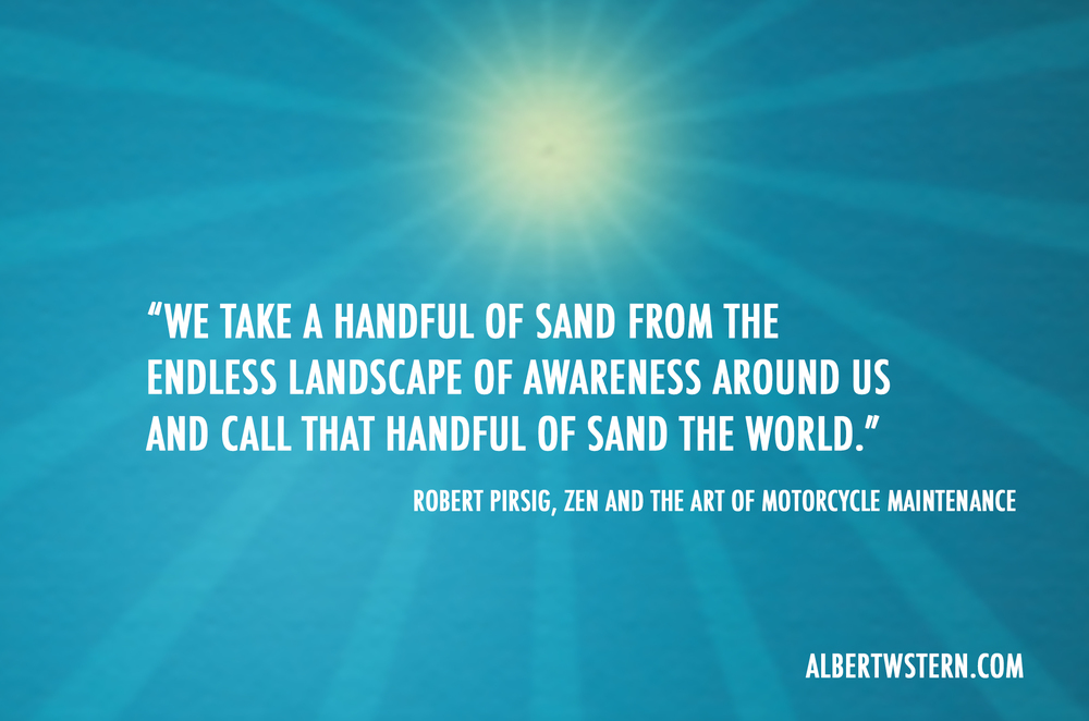 Friday Quote From Robert Pirisg Albert W Stern