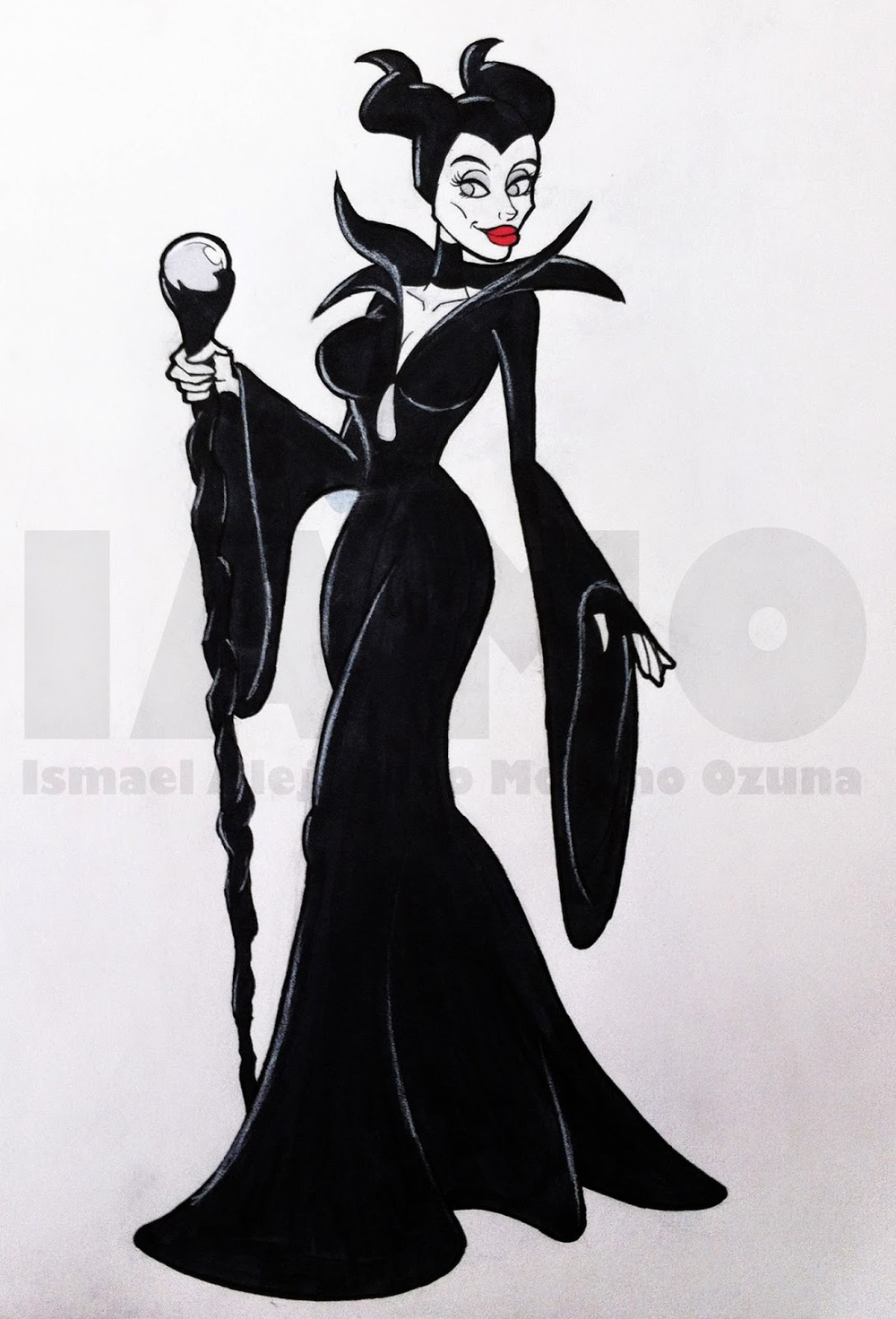 IAMO Maleficent sketch
