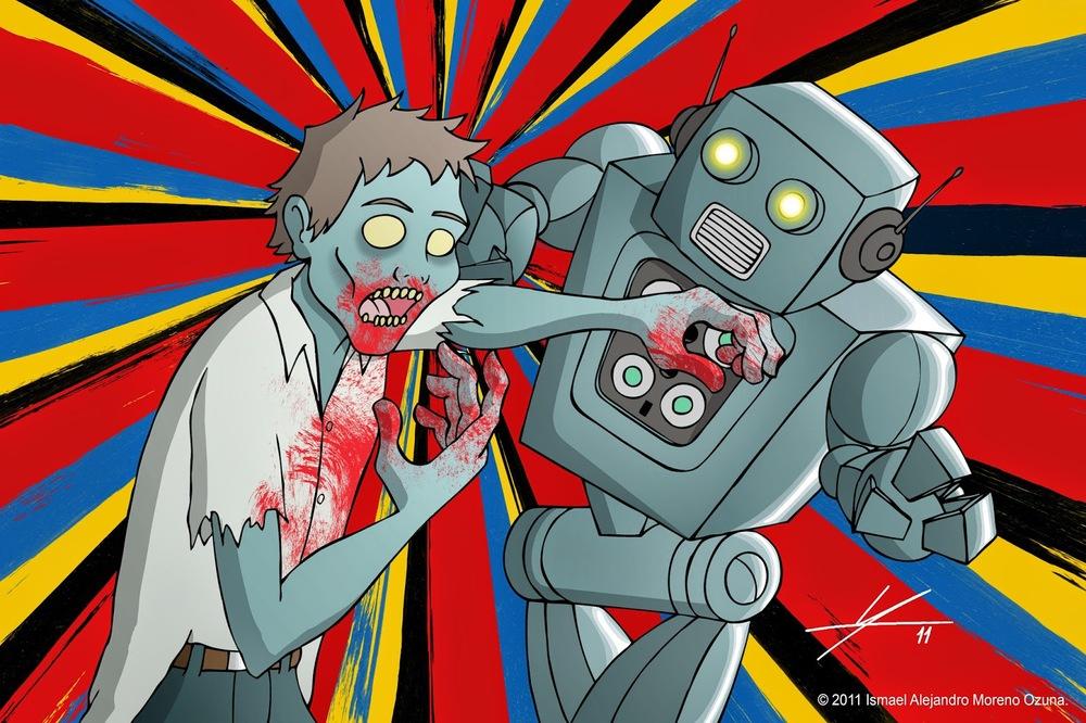 Роботы зомби картинки