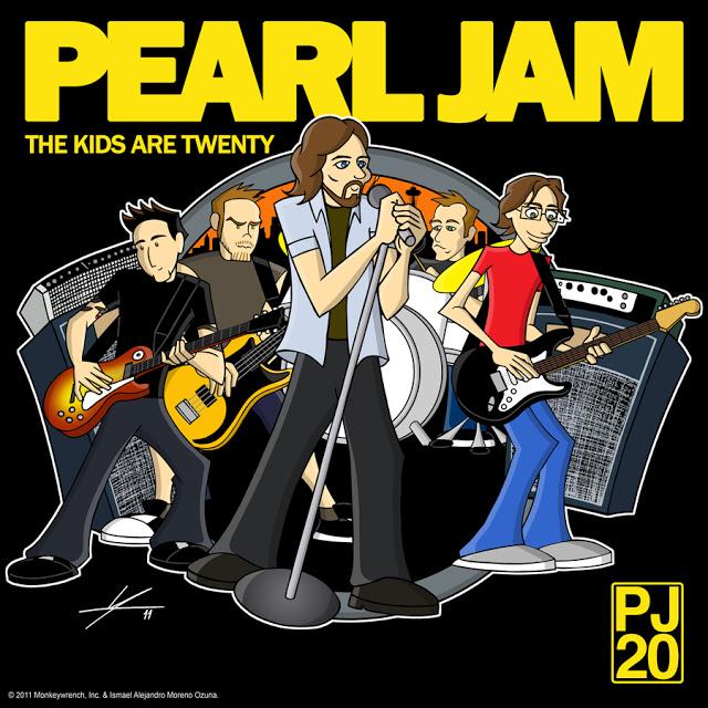 Pearl Jam The Kids Are Twenty PJ20 by IAMO
