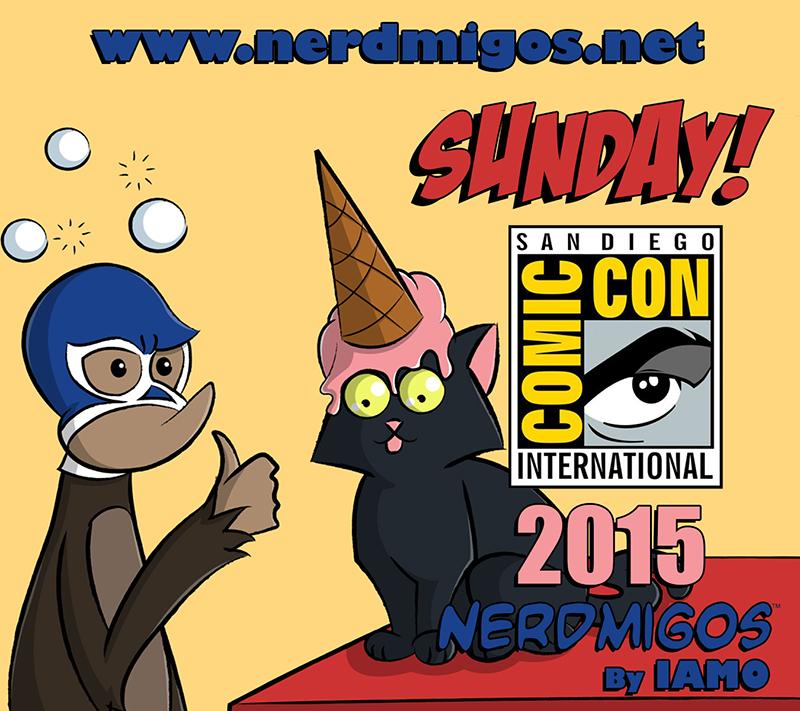 nerdmigos-SDCC-2015-Sunday-Badge
