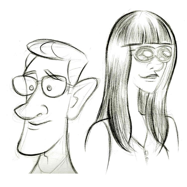 People Sketching.