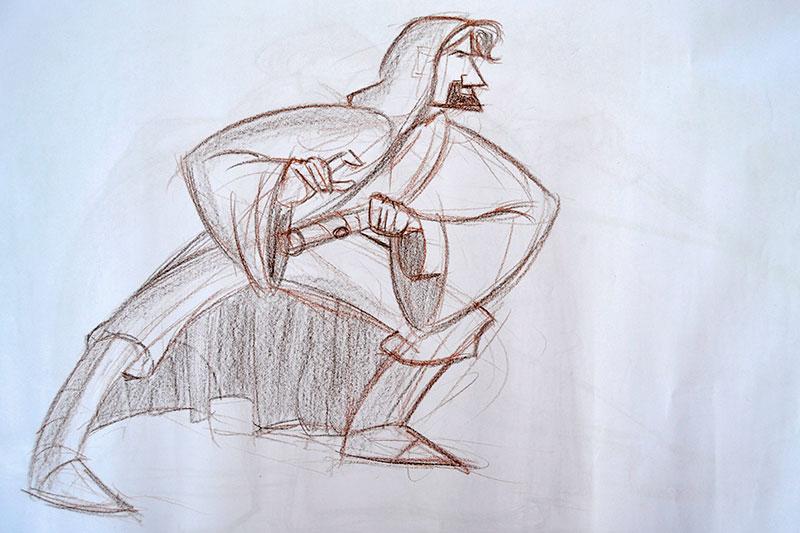 Jedi Gesture Drawing