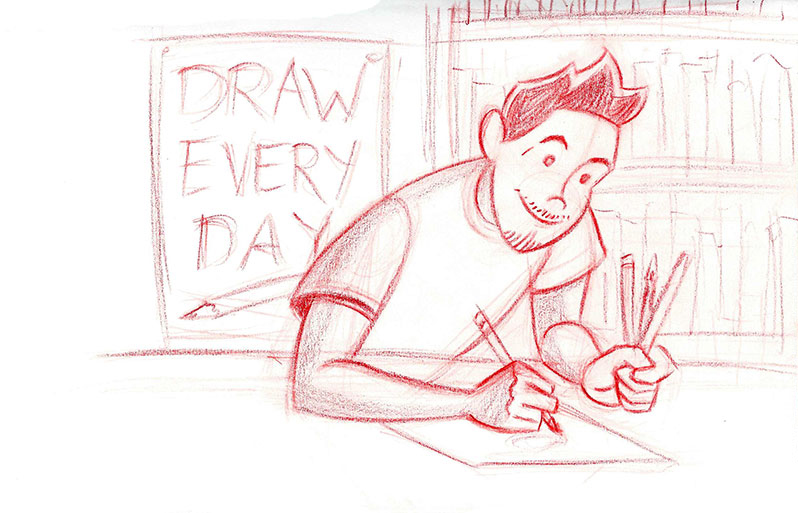 Draw Every Day Sketch
