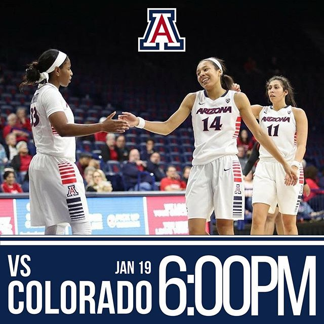 Join us in McKale Center tonight to cheer on @ArizonaWBB for the Unity Game vs Colorado at 6 PM!! Make sure to wear BLUE! #BearDown