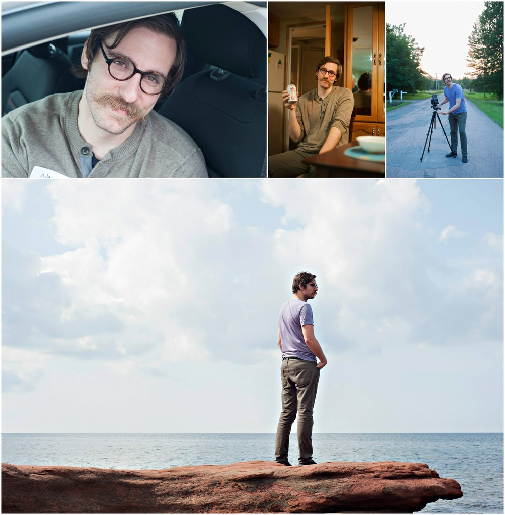 Adam in various spots in Canada from last summer