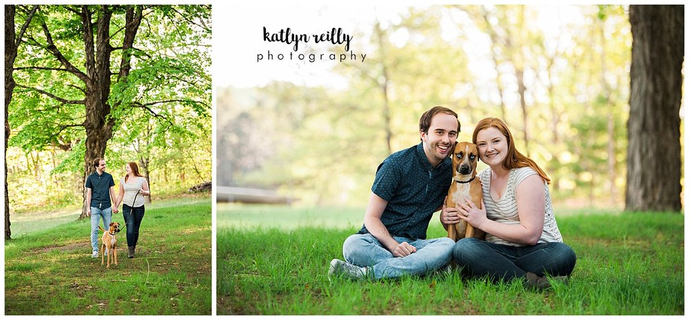 Rail Trail Engagement Session