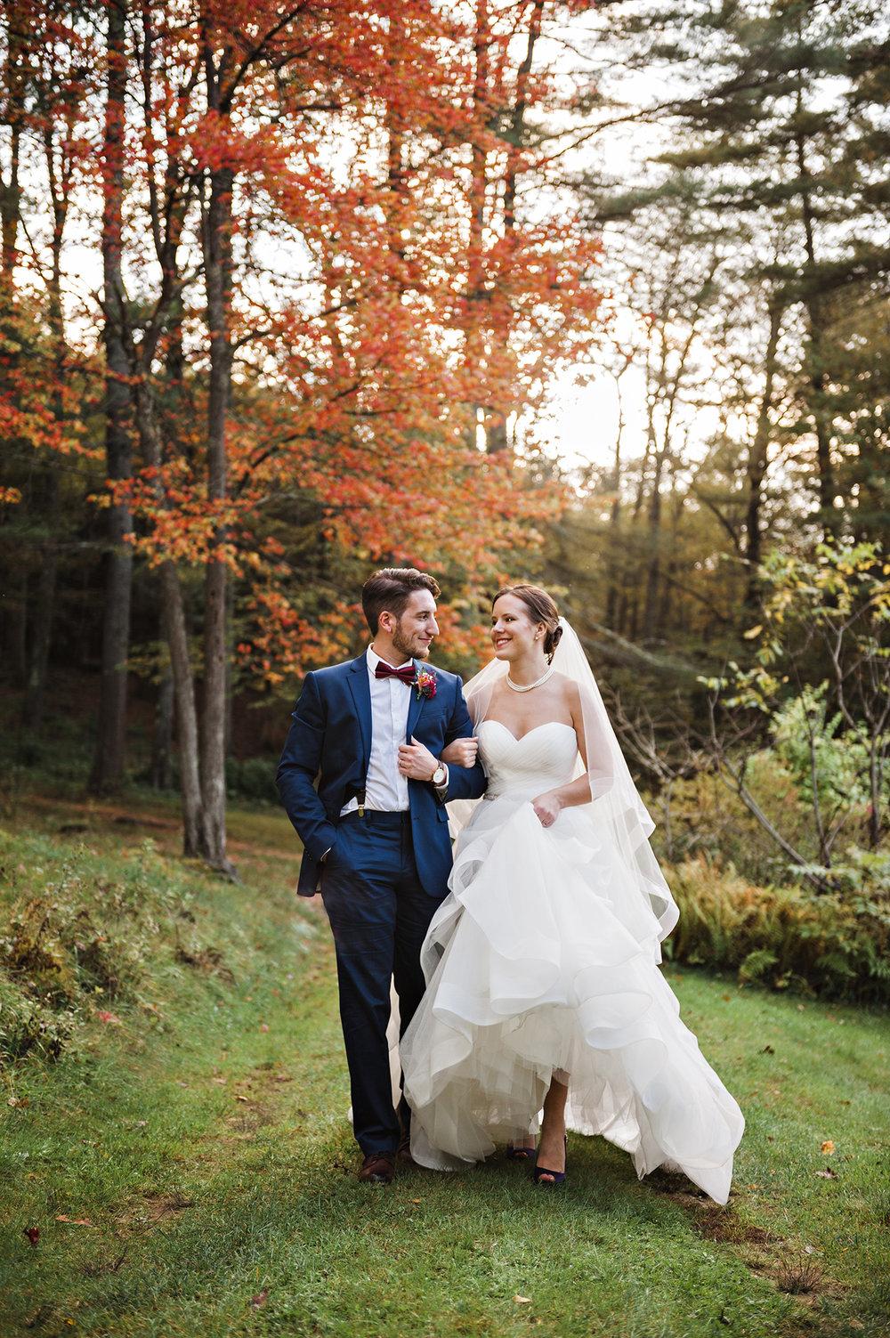 Hartman's Herb Farm Fall Wedding