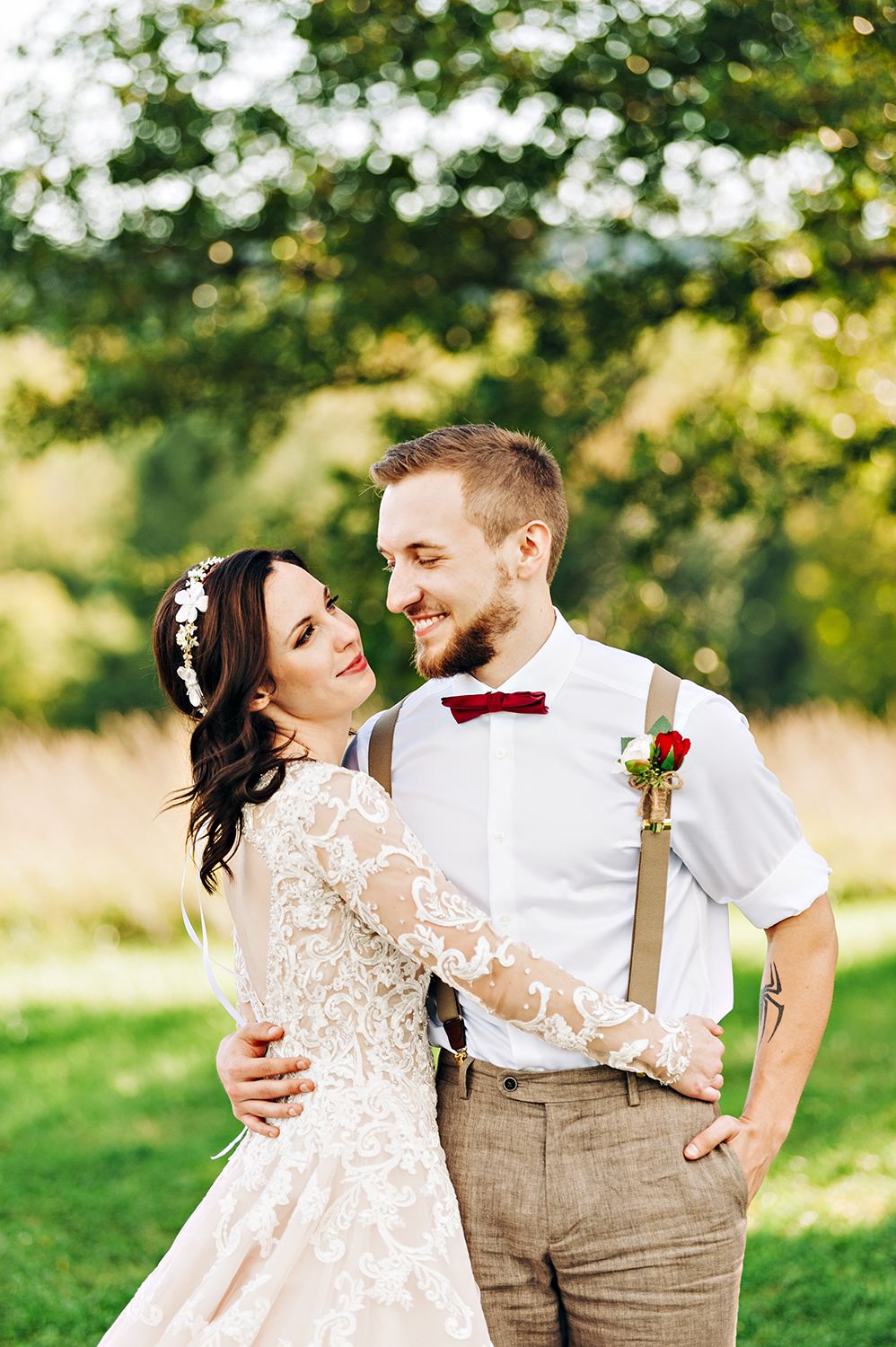 The Red Barn at Hampshire College Wedding