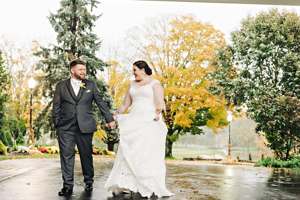 Pleasant Valley Country Club Wedding
