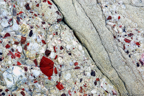 Section of pudding stone; ©markscarlson.com